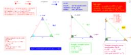 triangoli-classificazione con riferimento agli angoli e lati