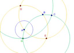 Demostración del teorema de Mohr-Mascheroni (1/5)