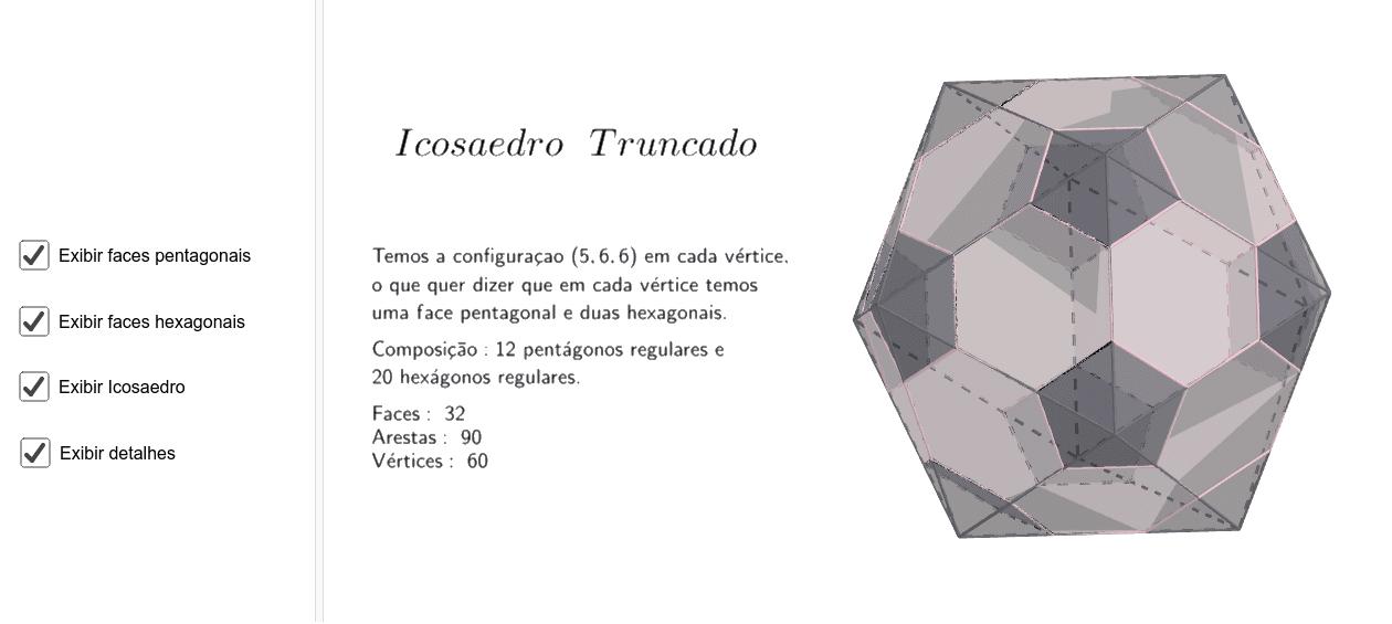 Icosaedro Truncado Press Enter to start activity