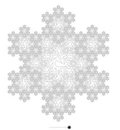 Peano Curve in Snowflake