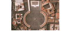piazza San Pietro: la vera forma?