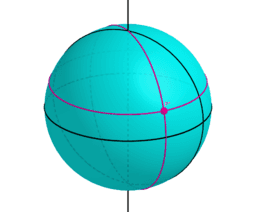 Locations on a Sphere