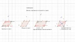 Dimostrazione proprietà parallelogrammi