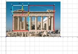 Proporciones áureas del Partenón de Atenas