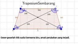 Eksplorasi Trapesium Sembarang