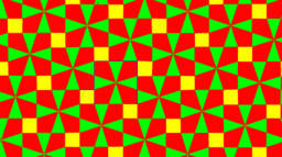 Pythagorean Theorem by Tessellation # 32 Tiling