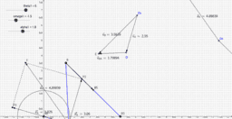 Kinematic analysis of four bar by means of polar diagrams