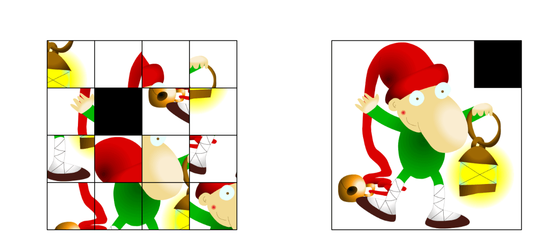 Slotopdracht : maak de kerstpuzzel !  Press Enter to start activity