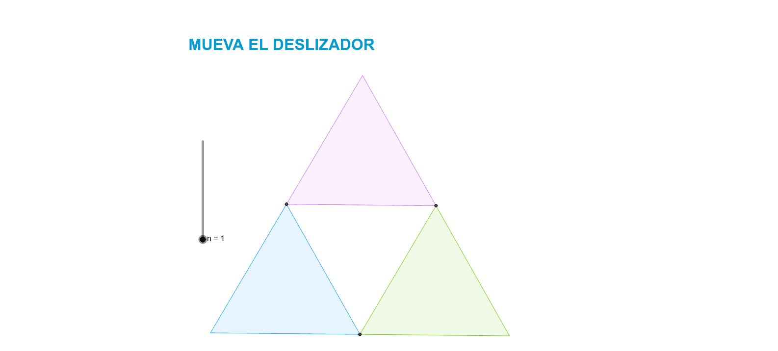 El triángulo de Sierpinski es un fractal introducido por el matemático polaco Waclaw Sierpinski en el año 1919.