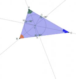 Droites et points remarquables d'un triangle