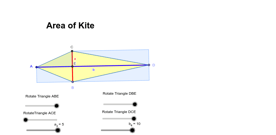 Area of a Kite Press Enter to start activity
