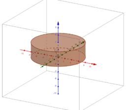 Volumen eines Zylinders - Zufallszahl - Schaltfläche