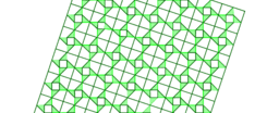 Pythagorean Theorem by Tessellation # 62 Tiling