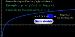 Función logarítmica base 2 ( ejercicios )