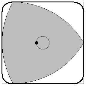Middelpunt van de driehoek