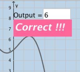 Evaluating Functions Using Graphs (Quiz)