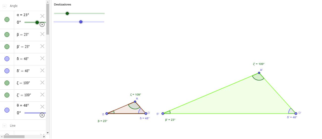 Criterio 1 - Semejanza triángulos
