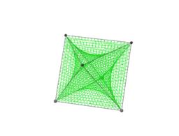 Octahedron String Art