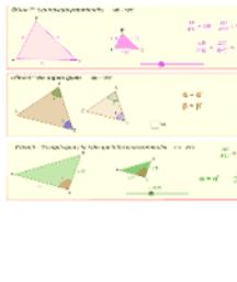 Criterios semejanzas triangulos