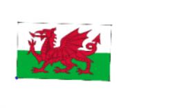 drapeau pays de Galls