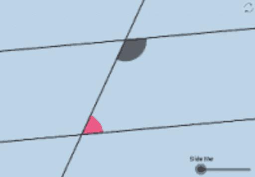 Same Side Interior Angles Theorem Geogebra