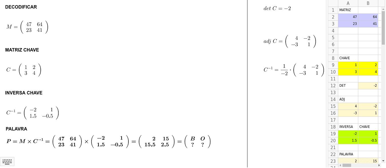 Decifrar código Press Enter to start activity