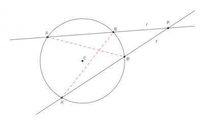 Geometría: rectas y cónicas. Matemáticas Bachillerato