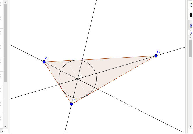 Angle Bisectors - Incenter (Are Bringing In)