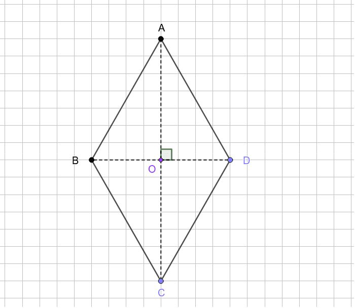 Rombul - diagonale Press Enter to start activity