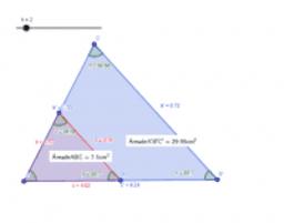 Triángulos y semejanzas... antes de la Trigonometría.