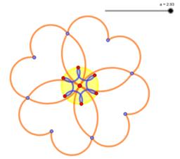 Animated flower (RO)