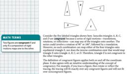 10-2 Classwork (Congruence)