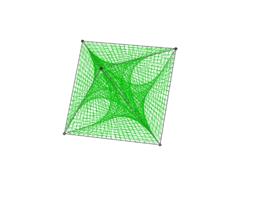 Octahedron String Art 2