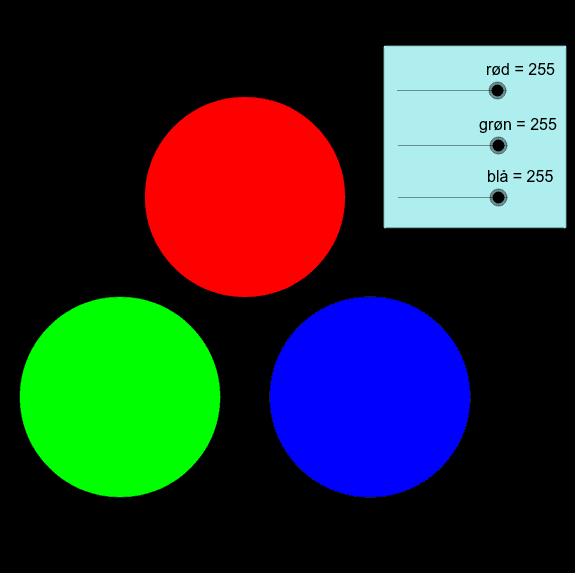 Additiv farveblanding